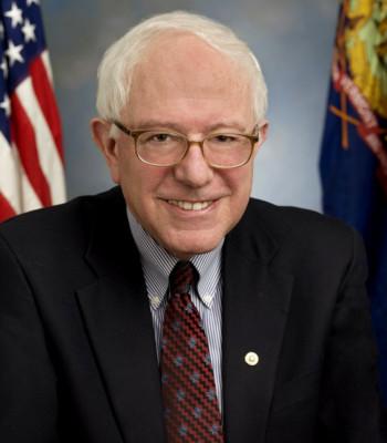 Image of Bernie Sanders via